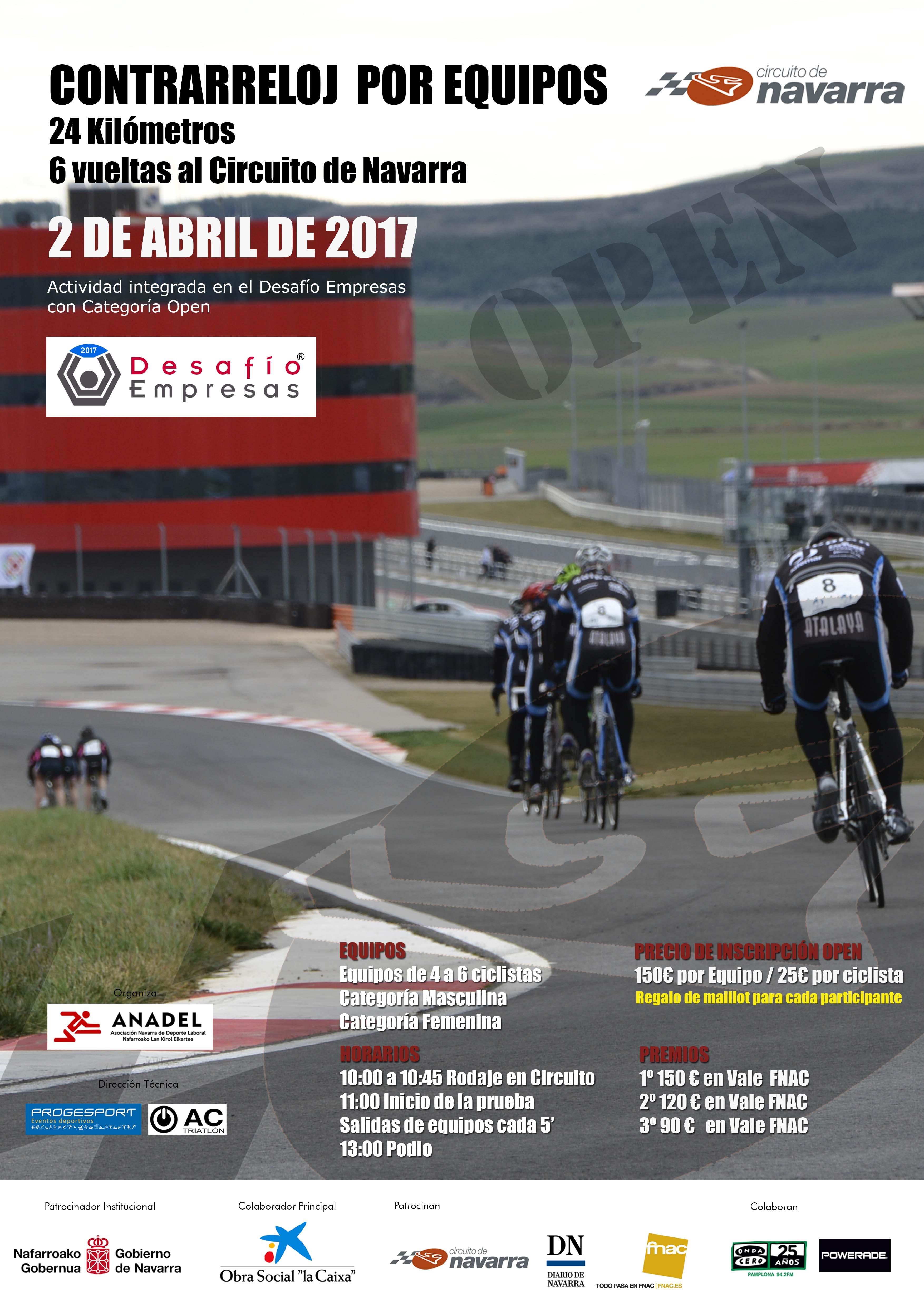 Circuito Navarra : Rockthesport contrarreloj los arcos navarra