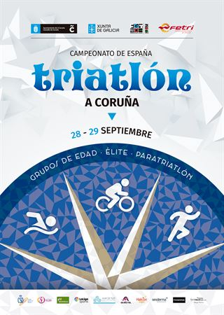 Campeonato de España de Triatlón - A Coruña
