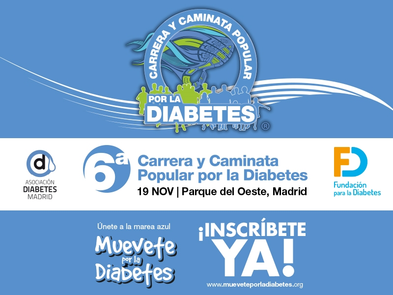 Carrera y Caminata Popular Por La Diabetes - Madrid