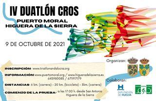 IV DUATLÓN CROS PUERTO MORAL - HIGUERA DE LA SIERRA