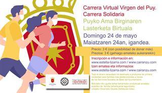 Carrera Virtual Virgen del Puy de Estella - Lizarrako Puyko Ama Birginaren Lasterketa Birtuala