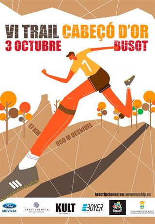 """VI Trail """"Cabeçó d´Or"""" de Busot"""