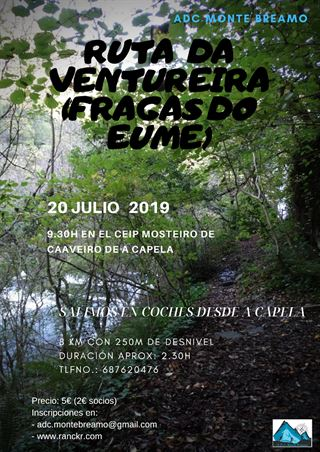 RUTA DA VENTUREIRA - FRAGAS DO EUME