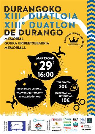 DUATLON DE DURANGO 2020, Campeonato de Euskadi