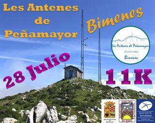 Les Antenes de Peñamayor - Carrera de Montaña