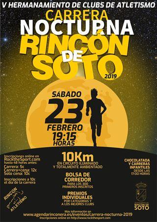 CARRERA NOCTURNA - RINCÓN DE SOTO 2019