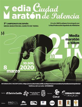 3ª Campeonato de España del ejercito de Tierra Media Maratón Ciudad de Palencia
