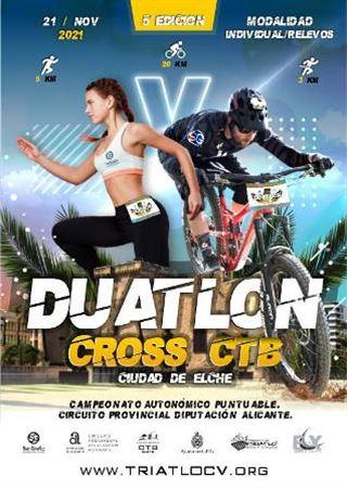 V DUATLON CROSS CTB CIUDAD DE ELCHE