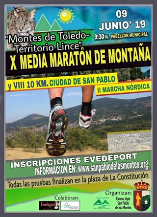 X MEDIA MARATÓN DE MONTAÑA/VIII 10KM/II MARCHA NÓRDICA CIUDAD DE SAN PABLO