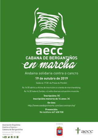 AECC EN MARCHA - CABANA DE BERGANTIÑOS
