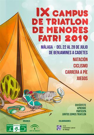 IX CAMPUS DE TRIATLÓN DE MENORES