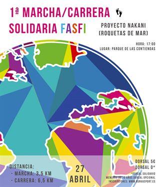 Carrera y Marcha Solidaria FASFI