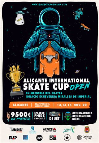 Alicante International Skate Cup, open