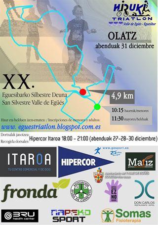 XX San Silvestre Valle de Egüés - Eguesibarko Silbestre Deuna 2019