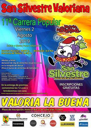 "11ª Carrera Popular ""San Silvestre Valoriana""-"