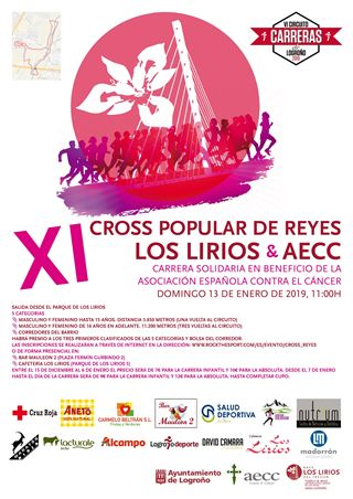 XI Cross popular de Reyes Los Lirios