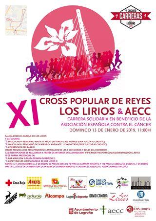 XI Cross popular de Reyes Los Lirios