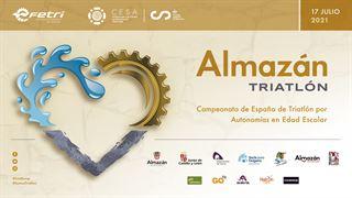 Campeonato de España de Triatlón por Autonomías en Edad Escolar - Almazán