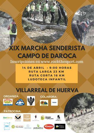 XIX MARCHA SENDERISTA CAMPO DE DAROCA