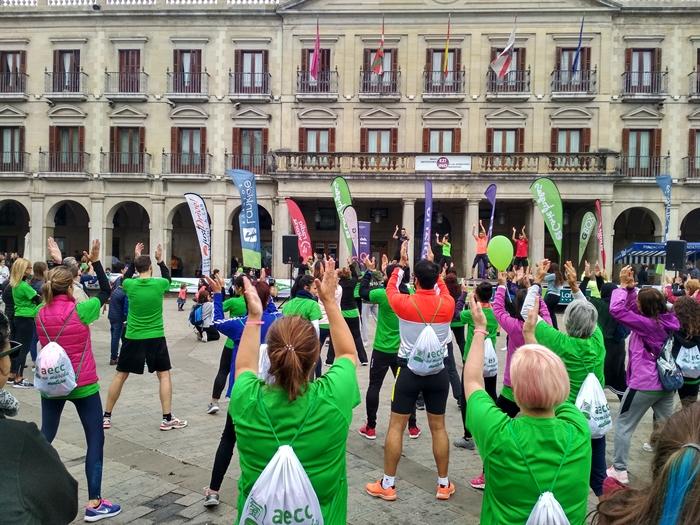 Foto galería AECC EN MARCHA - V Marcha Contra el Cáncer / AECC MARTXAN - Minbiziaren Aurkako V. Martxa