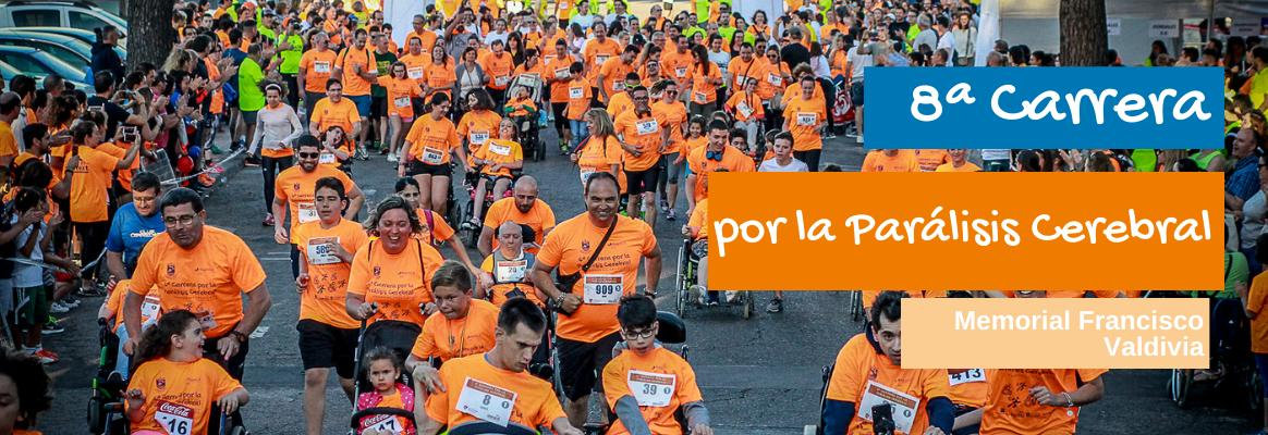 8ª Carrera Virtual por la Parálisis Cerebral, Memorial Francisco Valdivia