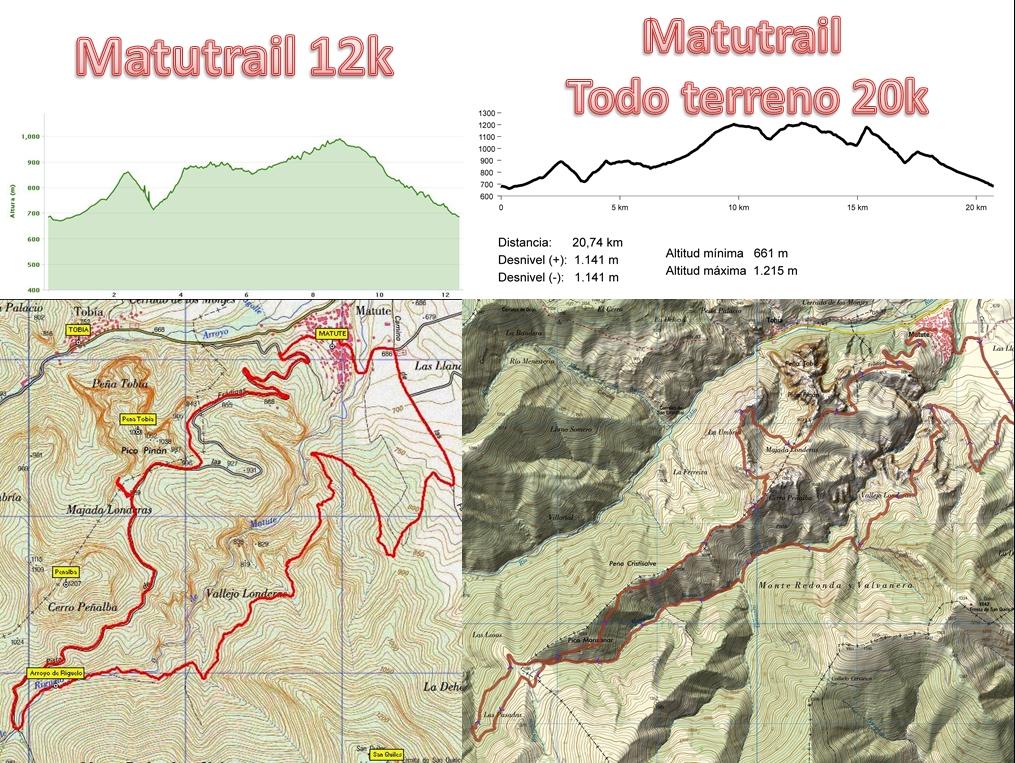 MATUTRAIL. V Carrera de montaña y marcha senderista de Matute 2018.           Campeonato de La Rioja de Trailrunning.